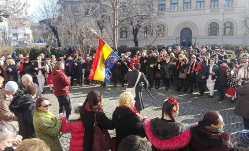 Hora Unirii la Ploiești cu ocazia aniversării celor 159 de ani de la Unirea Principatelor! (VIDEO)