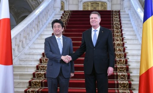 """Vizită istorică la Cotroceni! Shinzo Abe: """"România este un partener crucial pentru Japonia"""""""