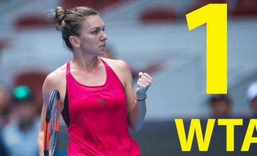 Simona Halep redevine numărul 1 mondial în tenisul feminin!