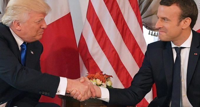 Donald Trump și Emmanuel Macron se vor întâlni la Casa Albă, pe 24 aprilie!