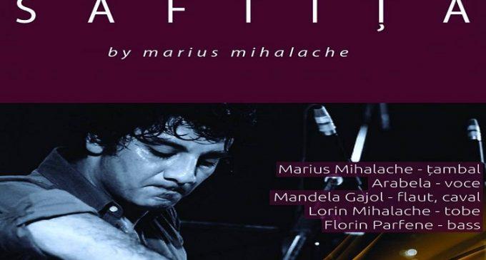 """Marius Mihalache va susține concertul """"Săftiță"""" pe scena Teatrului """"Toma Caragiu"""""""