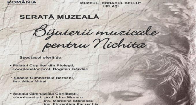 "EVENIMENT / ""Bijuterii muzicale pentru Nichita!"""
