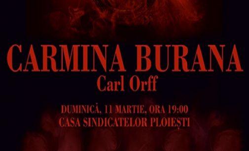 """Filarmonica """"Paul Constantinescu"""" Ploieşti, vă invită la un Concert Vocal – Simfonic Extraordinar!  CARMINA BURANA de Carl Orff"""