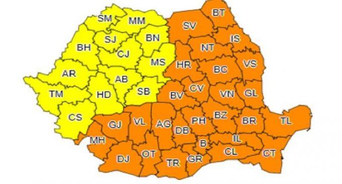 Măsuri luate de ISU în Prahova, după anunțarea Codului Portocaliu