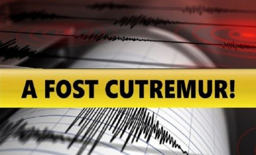 CUTREMUR PUTERNIC ÎN ROMÂNIA. Seismul s-a simțit si la București