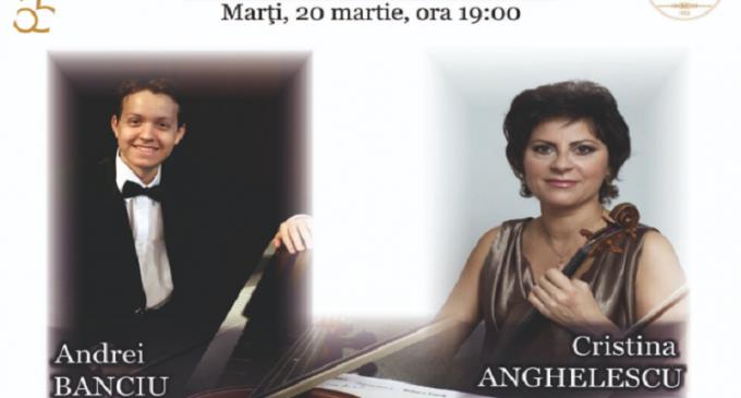 Cristina Anghelescu, una dintre cele mai valoroase violoniste ale Europei, recital de excepție la Ploiești!