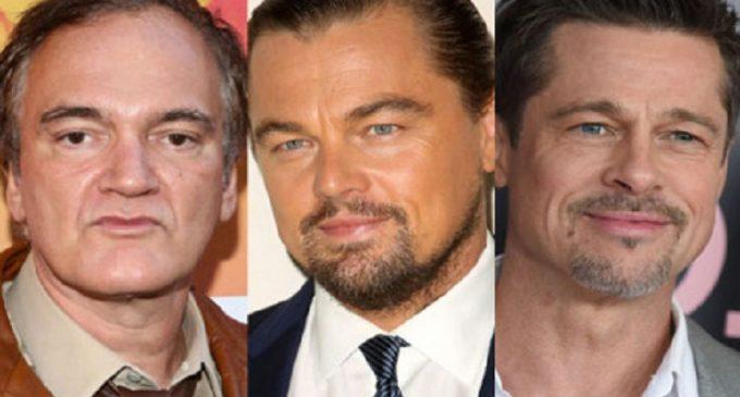PREMIERĂ / Pentru prima dată, Brad Pitt și Leonardo DiCaprio vor juca în același film