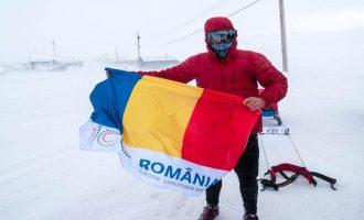 VIDEO / Tibi Uşeriu a câştigat pentru a treia oară consecutiv Maratonul Arctic Ultra 6633