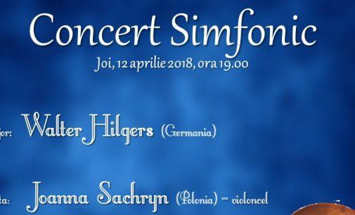 """CONCERT SIMFONIC – FESTIVALUL """"ZILELE FILARMONICII 65"""""""