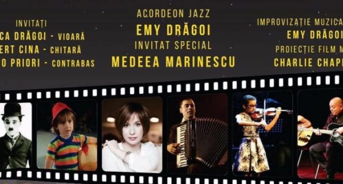 "EVENIMENT / ""Cineacordeon"", un concert marca Emy Drăgoi"
