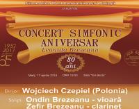 CONCERT SIMFONIC ANIVERSAR – Leonida Brezeanu – 80 de ani